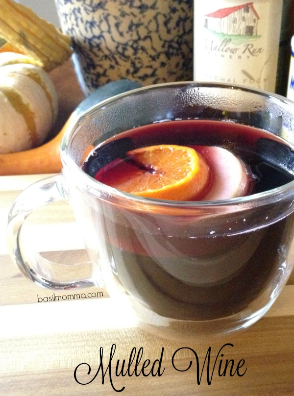 Mulled Wine Recipe, from basilmomma.com