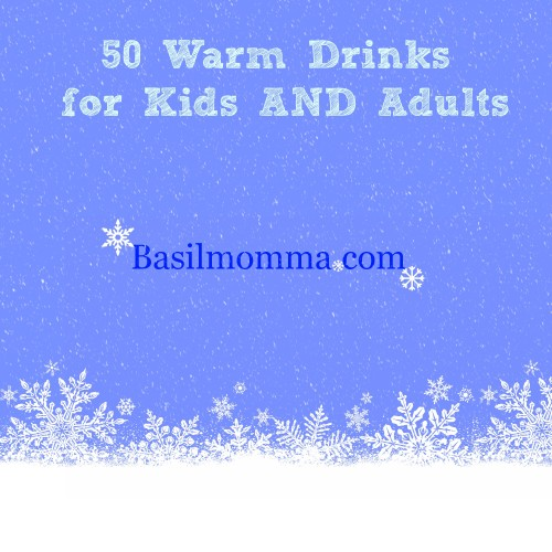 Warm drinks are perfect on a chilly night, removing the chill from our bones. Whether you like your drinks boozy or non-alcoholic, we have a warm drink recipes you'll love! - See the Collection on Basilmomma.com