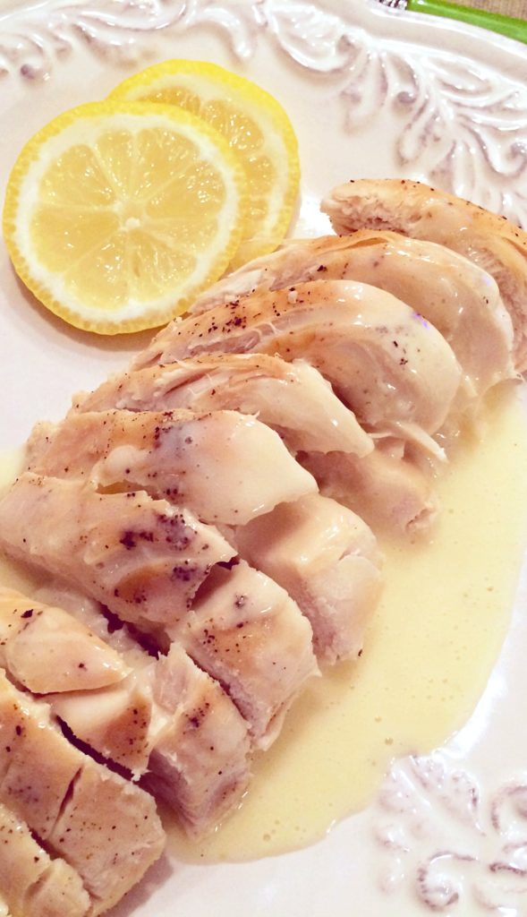 Classic Burre Blanc Sauce is SO easy to make! It's buttery, rich, and elegant over fish, chicken, or pork. Get the recipe from Basilmomma.com