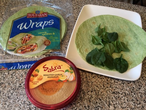 Gluten Free Turkey Burger Wrap