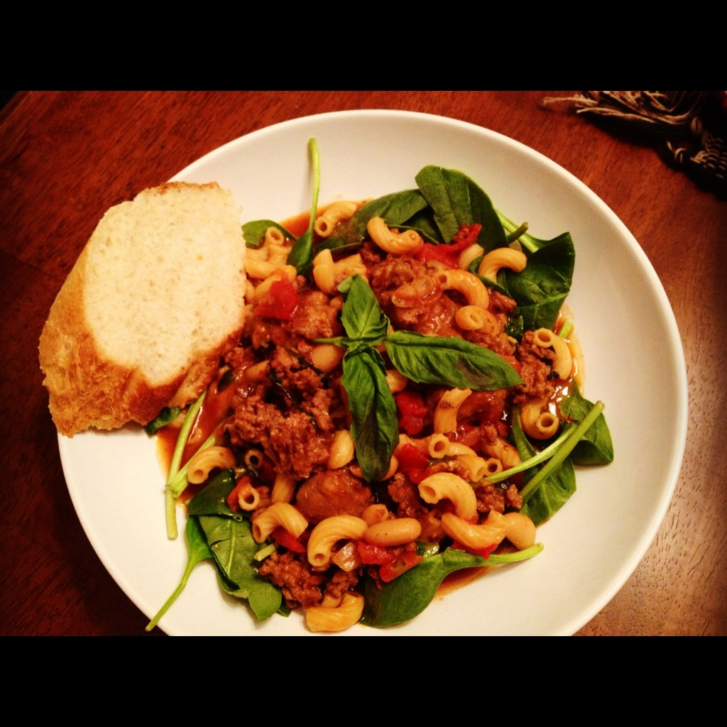 ausage and White Bean Ragout
