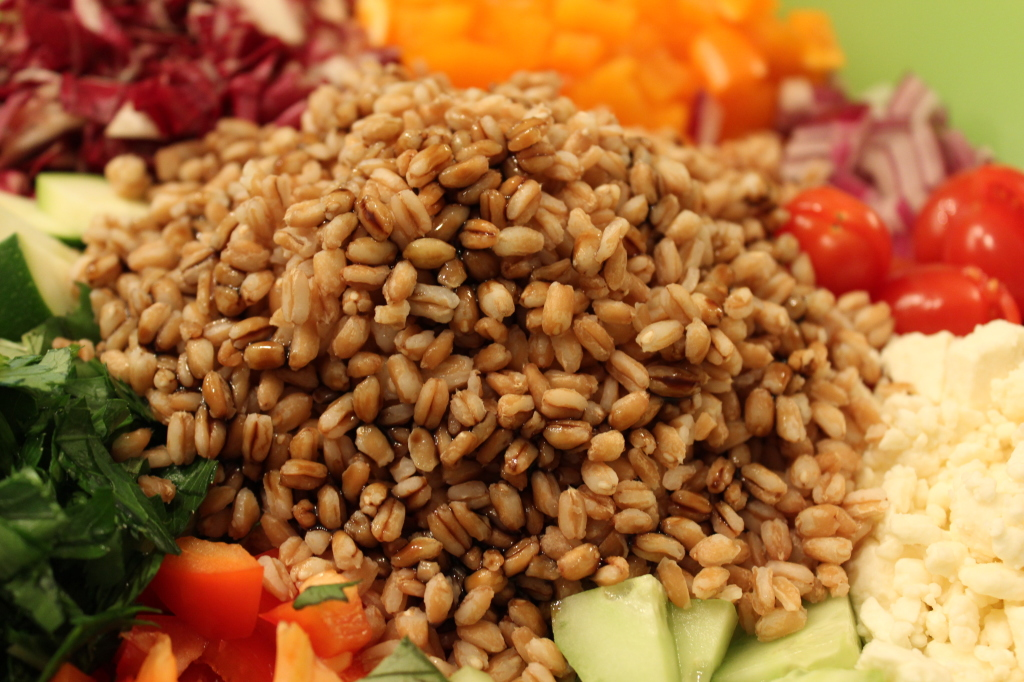 Farro Chopped Salad