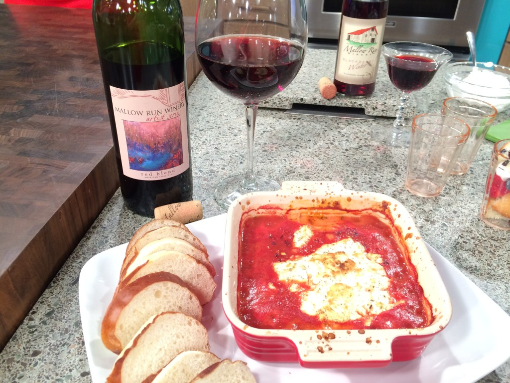 dinner for two -Make spicy tomato dip, white wine sauteed beef and dessert shooters for your special someone! @Basilmomma Basilmomma.com