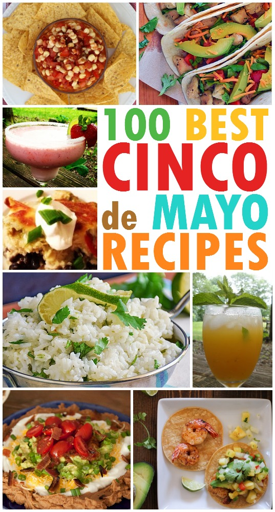 100 Best Cinco de Mayo Recipes from BasilMomma.com -- Spice up your Cinco de Mayo with these fantastic recipes!