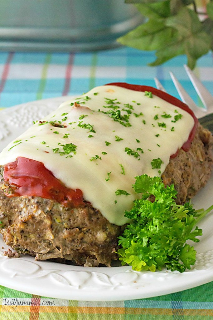 Slow Cooker Low Carb Italian Meatloaf - Slow cooker recipes don't get any better than this!