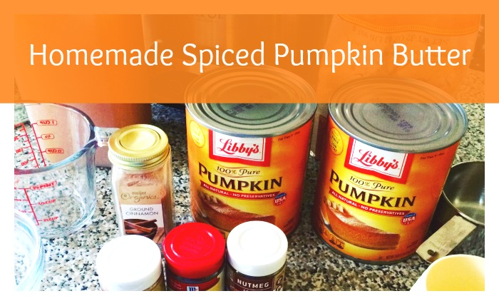 Homemade Spiced Pumpkin Butter - An easy condiment recipe that's perfect for fall! Can be made in a slow cooker (Crock Pot) or on the stove top. Get the recipe on basilmomma.com