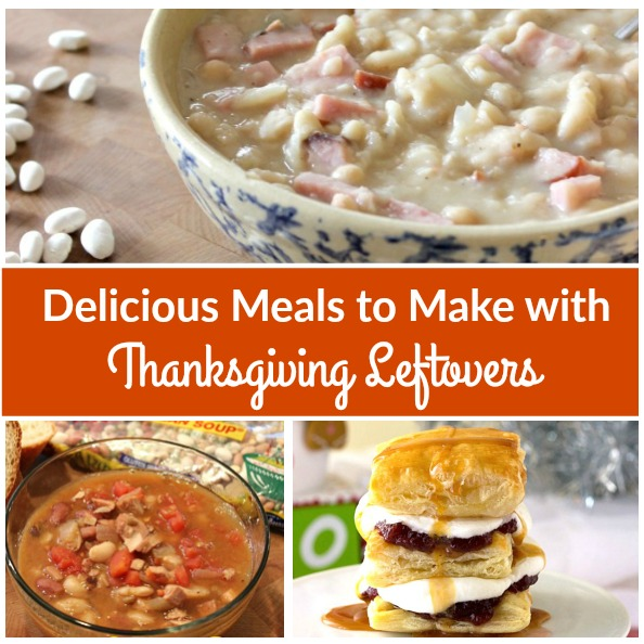 On the day after Thanksgiving, when you're staring at mounds of mashed potatoes and a tray full of turkey that's sitting in your fridge, these recipes using Thanksgiving leftovers will give you inspiration to create some delicious weeknight meals for your family.
