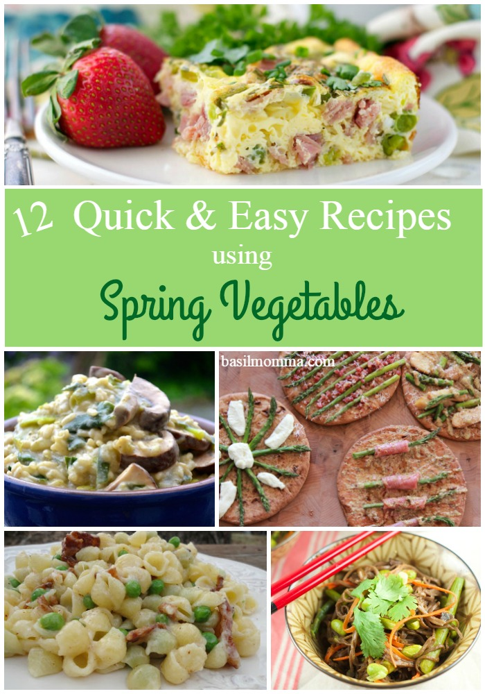 Recipes using Spring vegetables are all over the Web. Get our collection of delicious recipes using Spring vegetables now so that you're ready when the Spring veggies are!