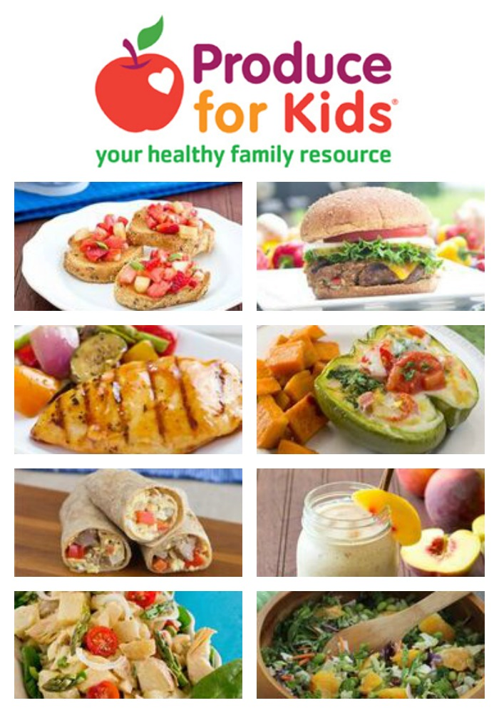 Ideas for Healthy Kid-Friendly Meals and Recipes from Produce for Kids