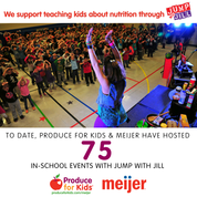 healthy kid friendly meals from Produce for Kids with Meijer