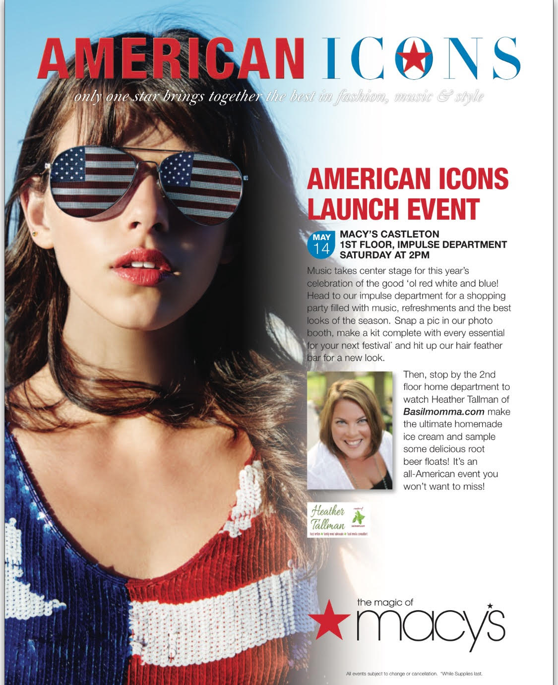 Macy's American Icons Home Event Castleton #AmericanIcons #MacysLove