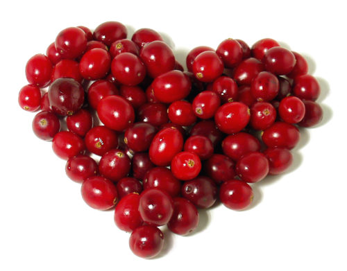Cranberry Heart Image