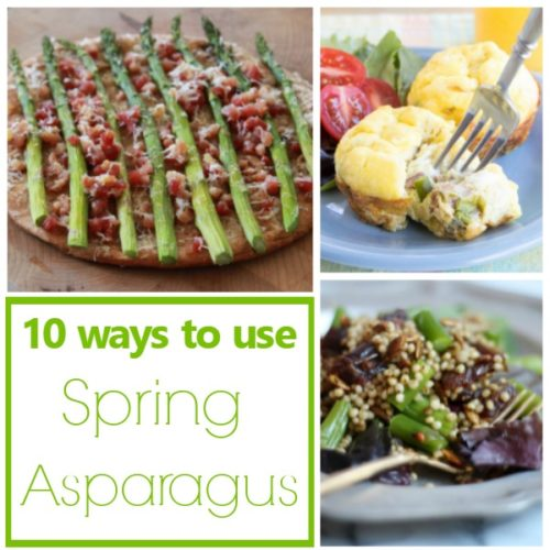 10 Delicious Spring Asparagus Recipes | basilmomma.com